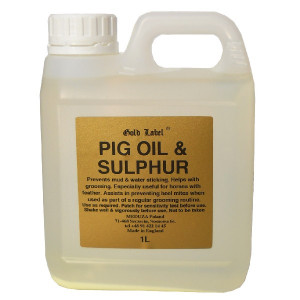 YORK Pig oil and sulphur Gold Label 1L