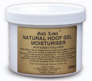 YORK Hoof Gel Moisturiser Gold Label Natural do kopyt 500 ml