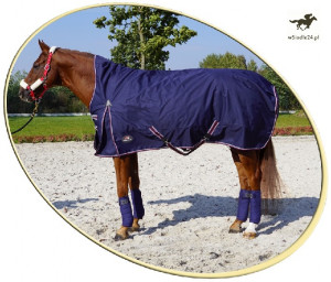 HE HORSENJOY Derka Aristo High Neck 250 g 135cm