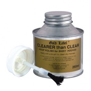 YORK Clearer Than Clear Gold Label lakier do kopyt 250ml