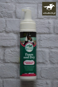 IV HORSE Foam and dry Suchy szampon 250ml